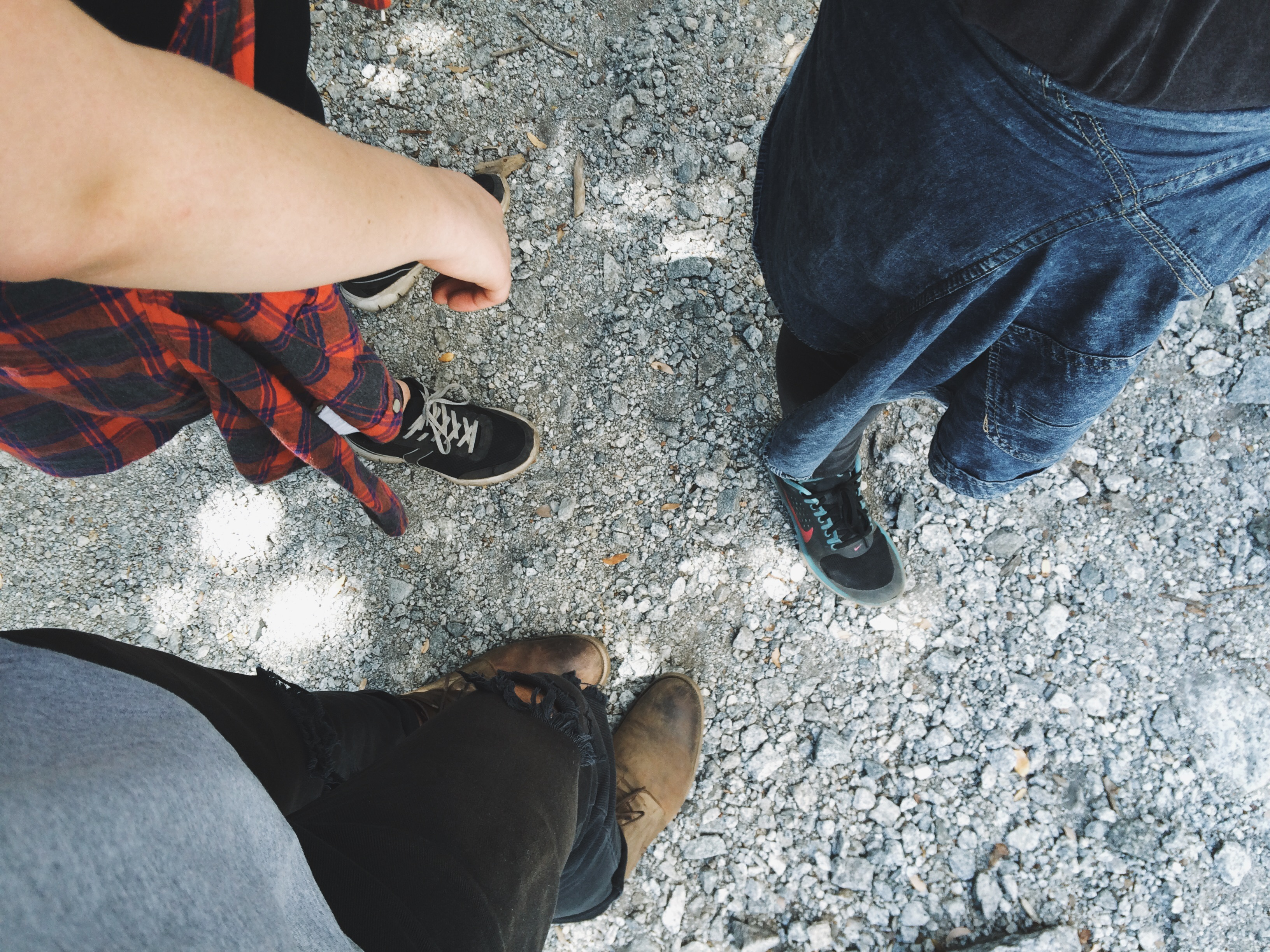 hipster shoes and flannel