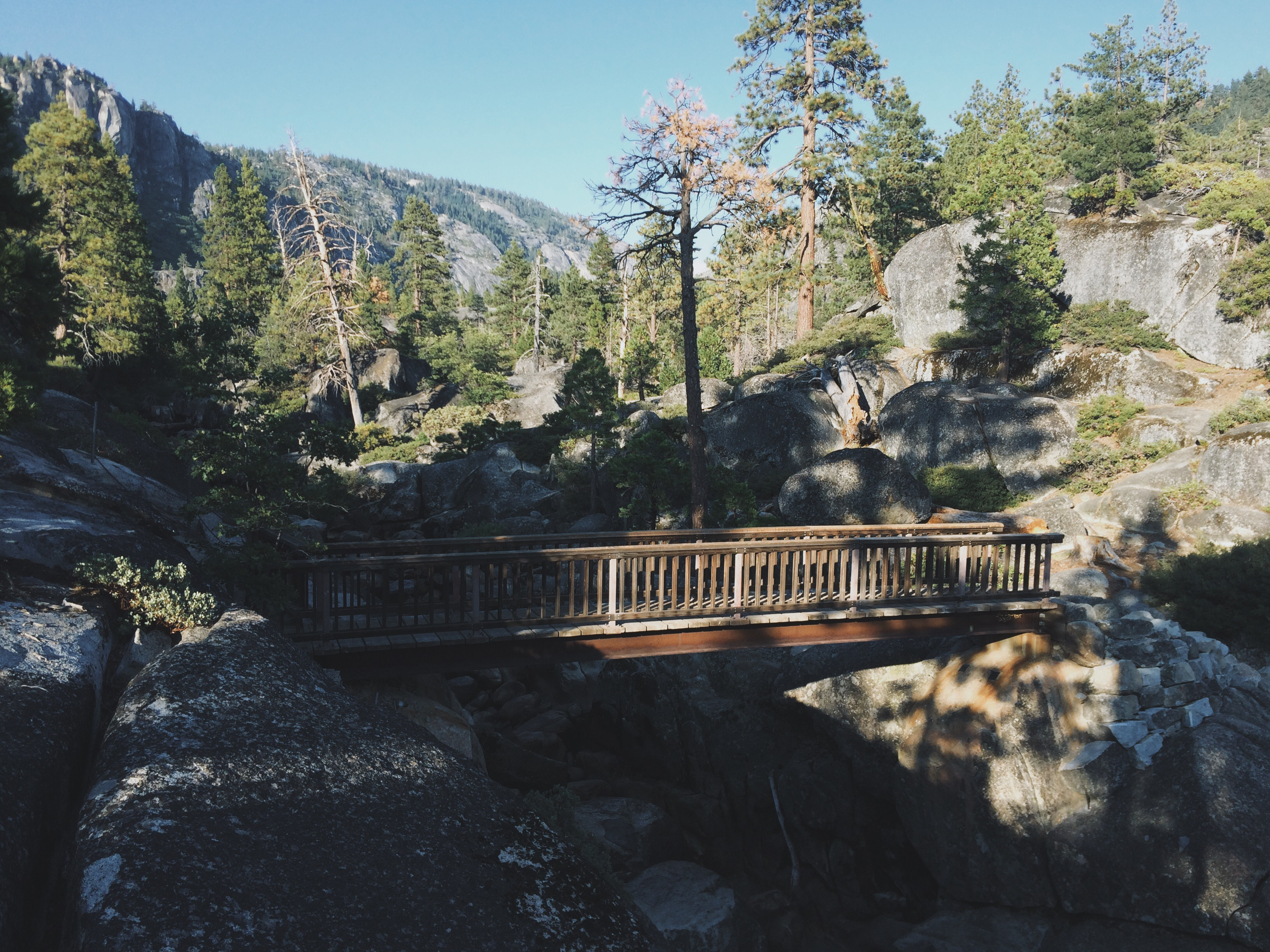 small mountain bridge
