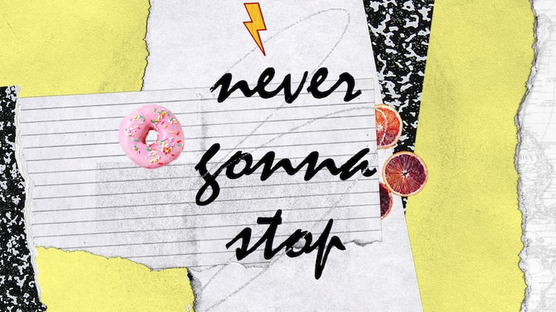 Never Gonna Stop Lyric Video
