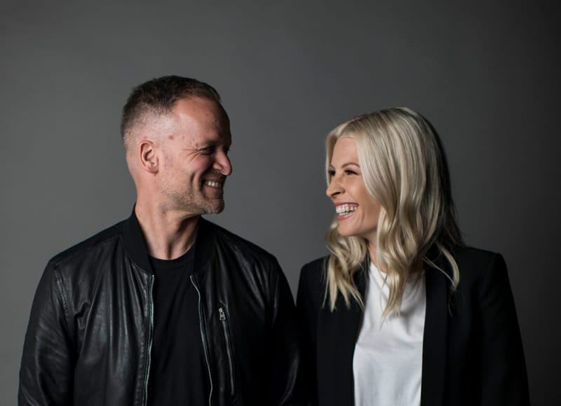 Brian and Jenn Johnson